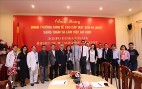 Science exchange program between Hanoi University of Business and Technology and Moscow State Higher University of Economics