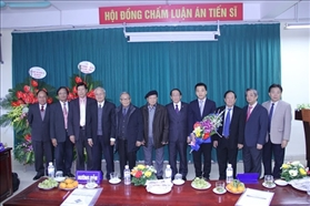 Doctoral Protective Dissertation Ceremony of Ph.D. student Tran Luu Trung